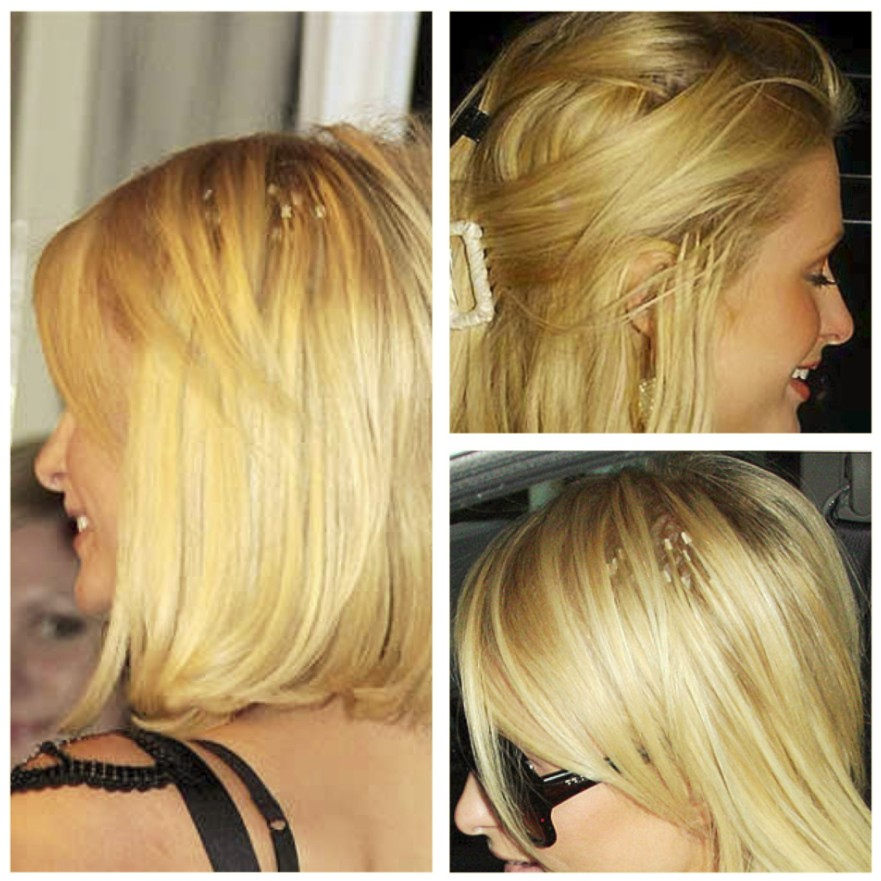 paris-hilton-hair-extensions-showing