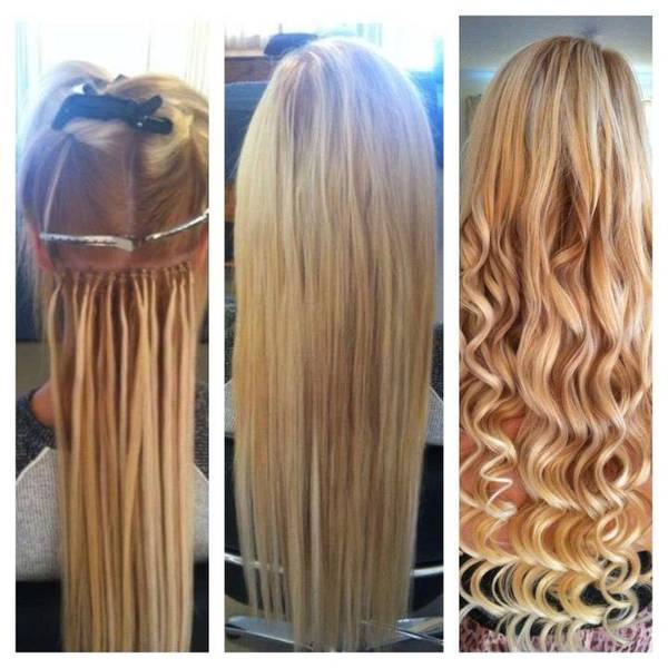 Microbead Hair Extensions Cold Fusion Hair Extensions