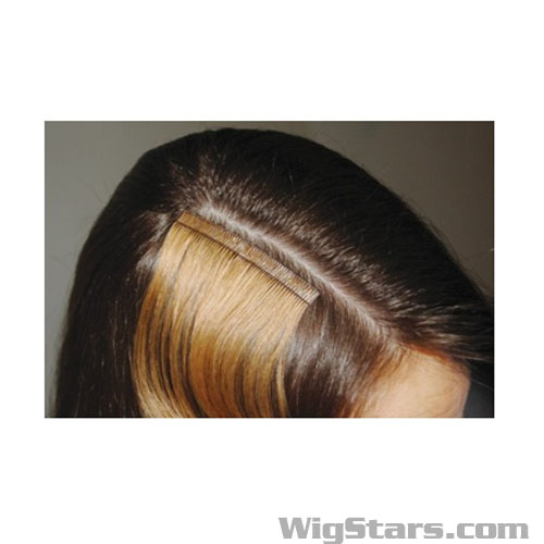Extension Hair Skin Weft 45